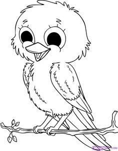 Drawn hawk baby #14