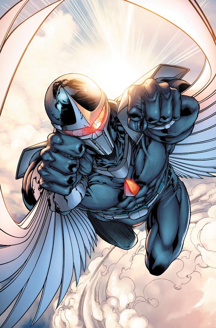 Drawn hawk dark Vine Darkhawk Soars Darkhawk Comic