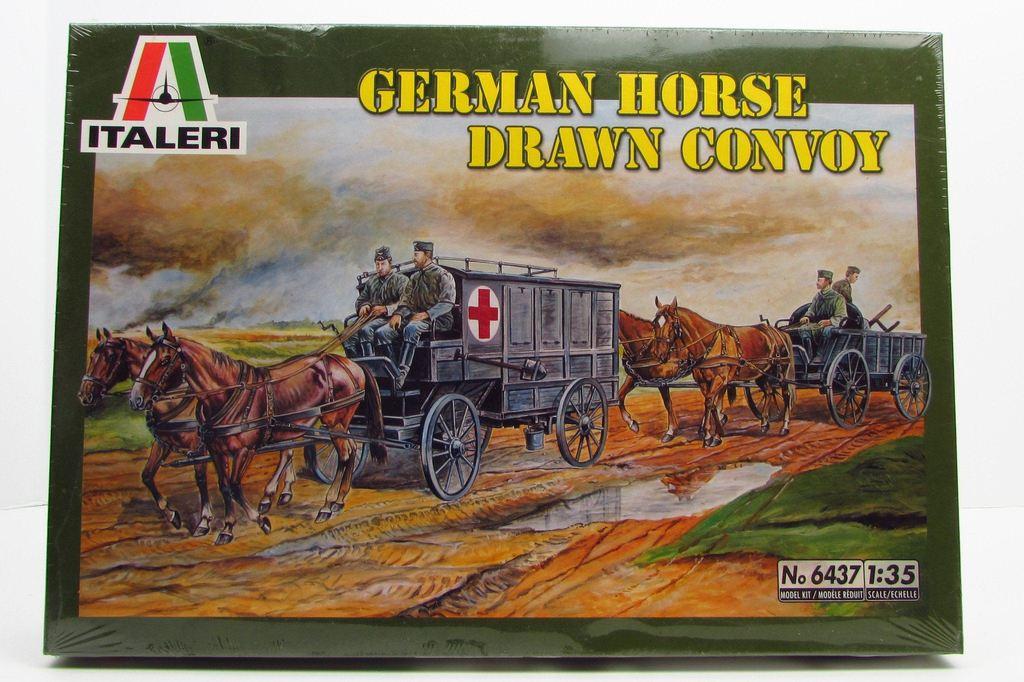 Drawn hawk german 1/35 New Model Horse New
