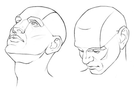 Drawn head Blog the angles of Stan