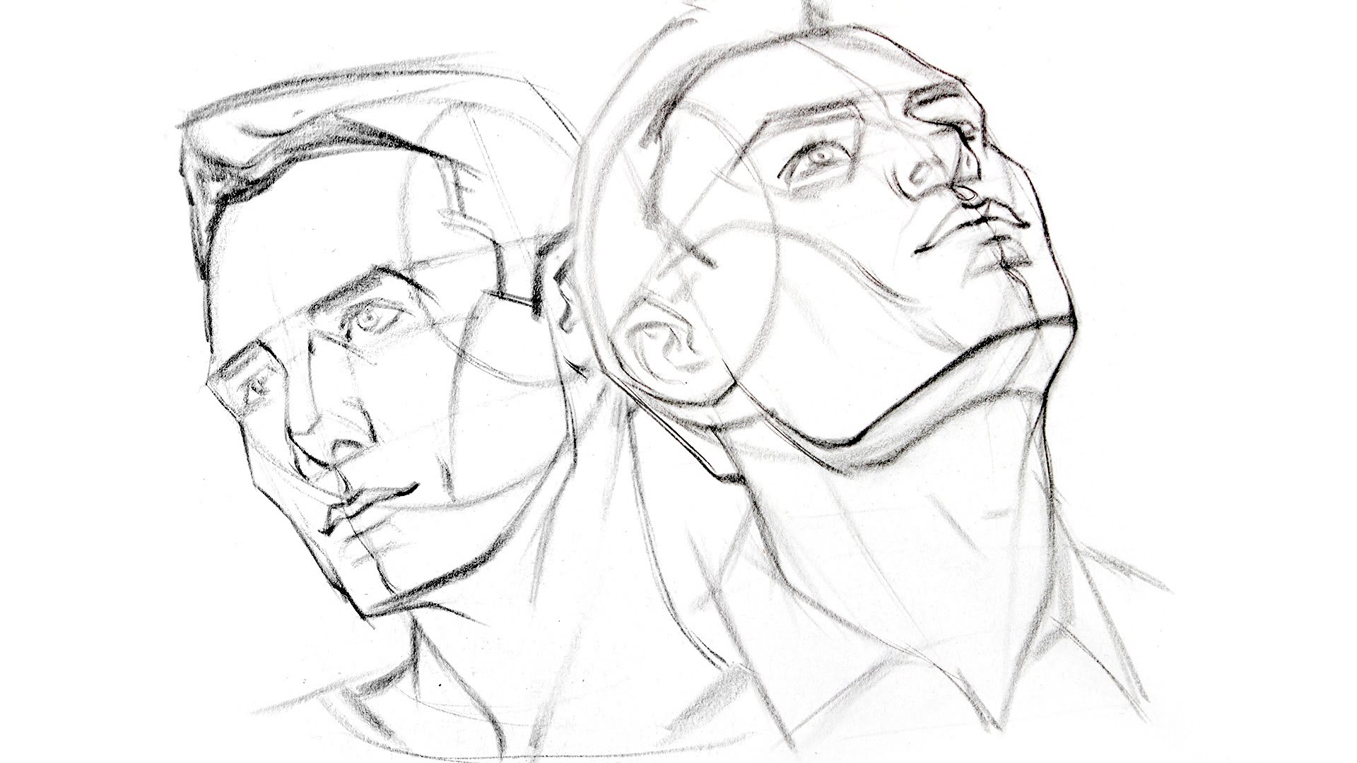 Drawn profile different How  Head YouTube Angles