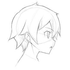 Drawn head anime draw Manga Draw Anime reference Drawing