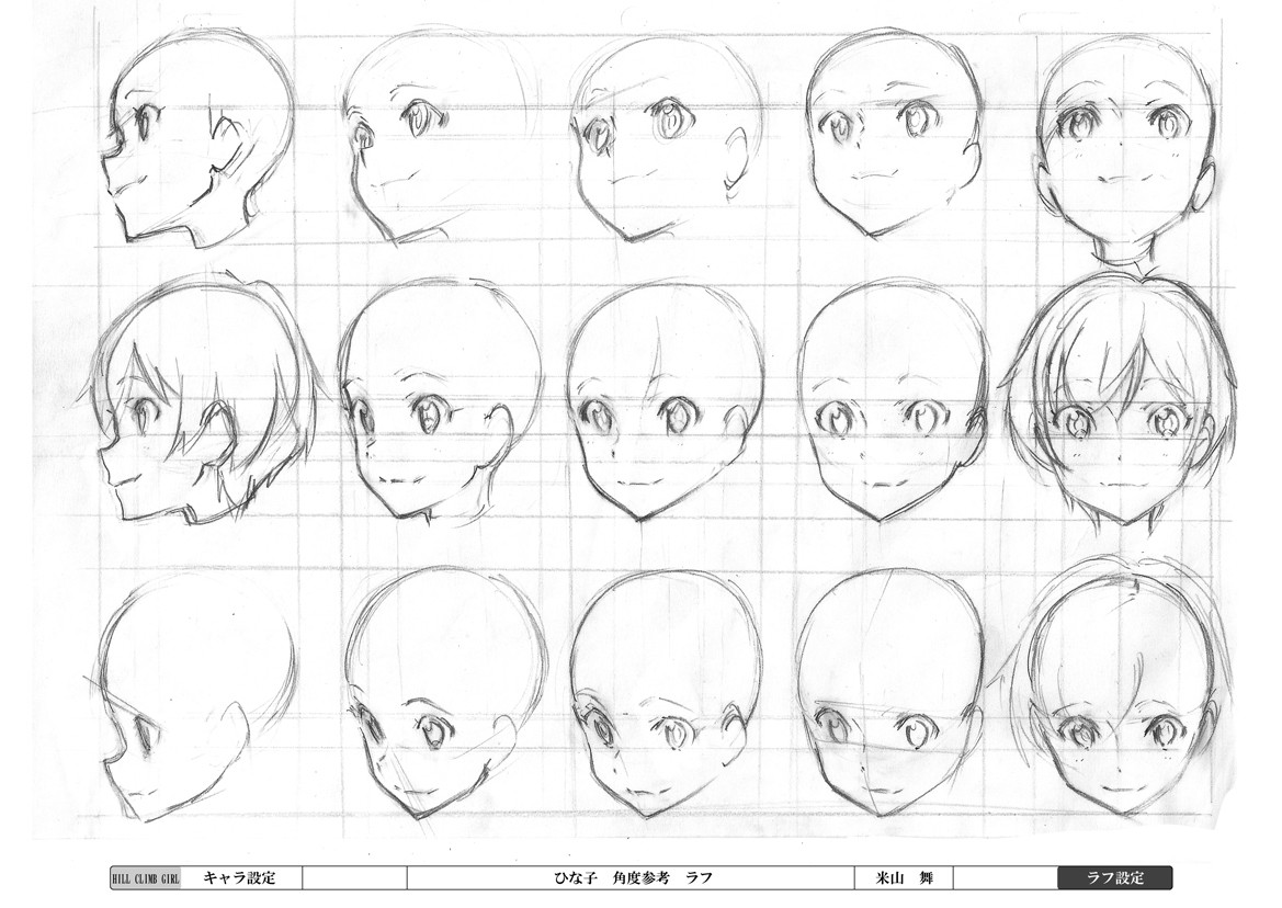 Drawn head anime draw Drawings Craft/ more Perspective Find