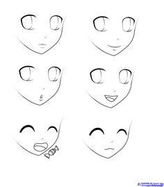 Drawn head anime draw All drawing to article information