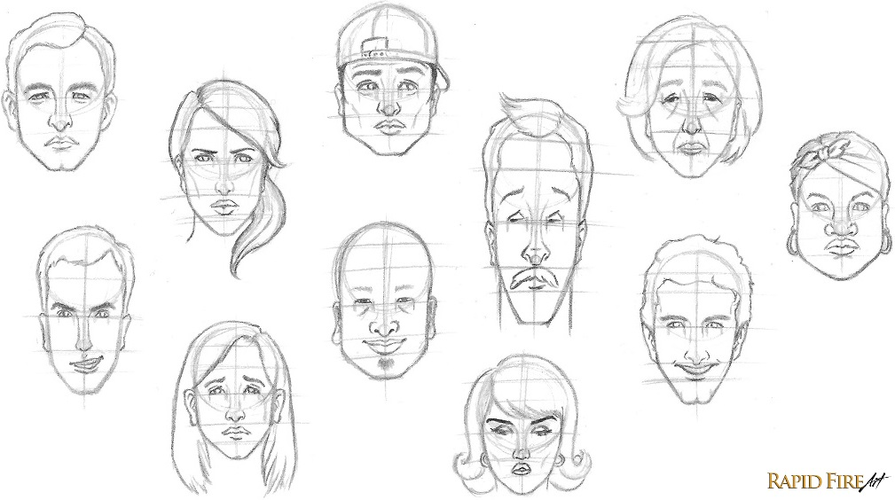 Drawn head basic In how Beginners on to
