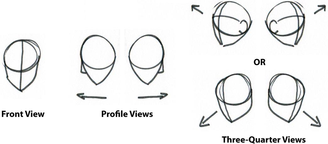 Drawn head basic Mr thumbnails a Life Drawing