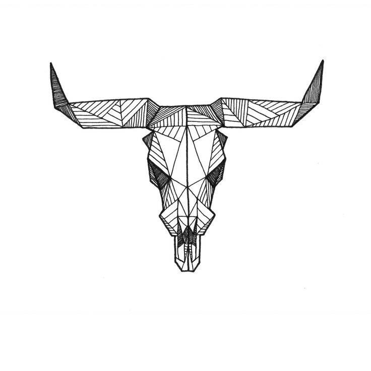 Drawn cattle printable #10