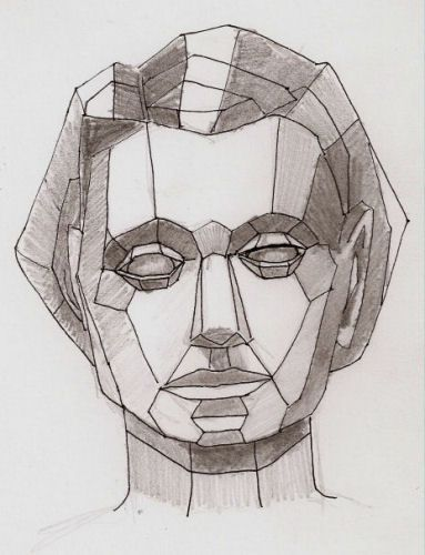 Drawn portrait geometric More the Find Pinterest this