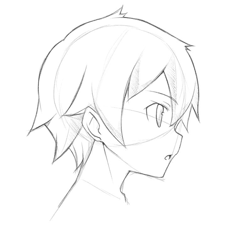 Drawn profile side angle Best to Academy How Draw