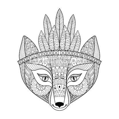 Drawn head hip Animal images free Pinterest bonnet