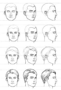 Drawn photos men's face Need How I eyes draw