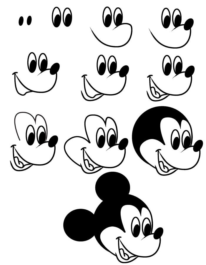 Drawn amd mickey mouse Com/drawing/ Mickey drawing ideas on