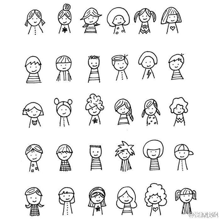 Drawn figurine funny cartoon Tattoo [Cp] [ cartoon hairstyle