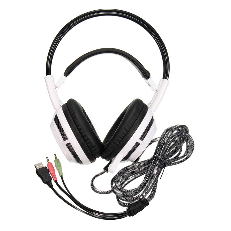 Drawn headphones computer microphone 4aef  a9d5 V7 LED