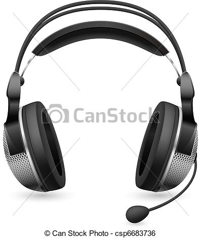 Drawn microphone singing Clipart Images Free Clipart Headset