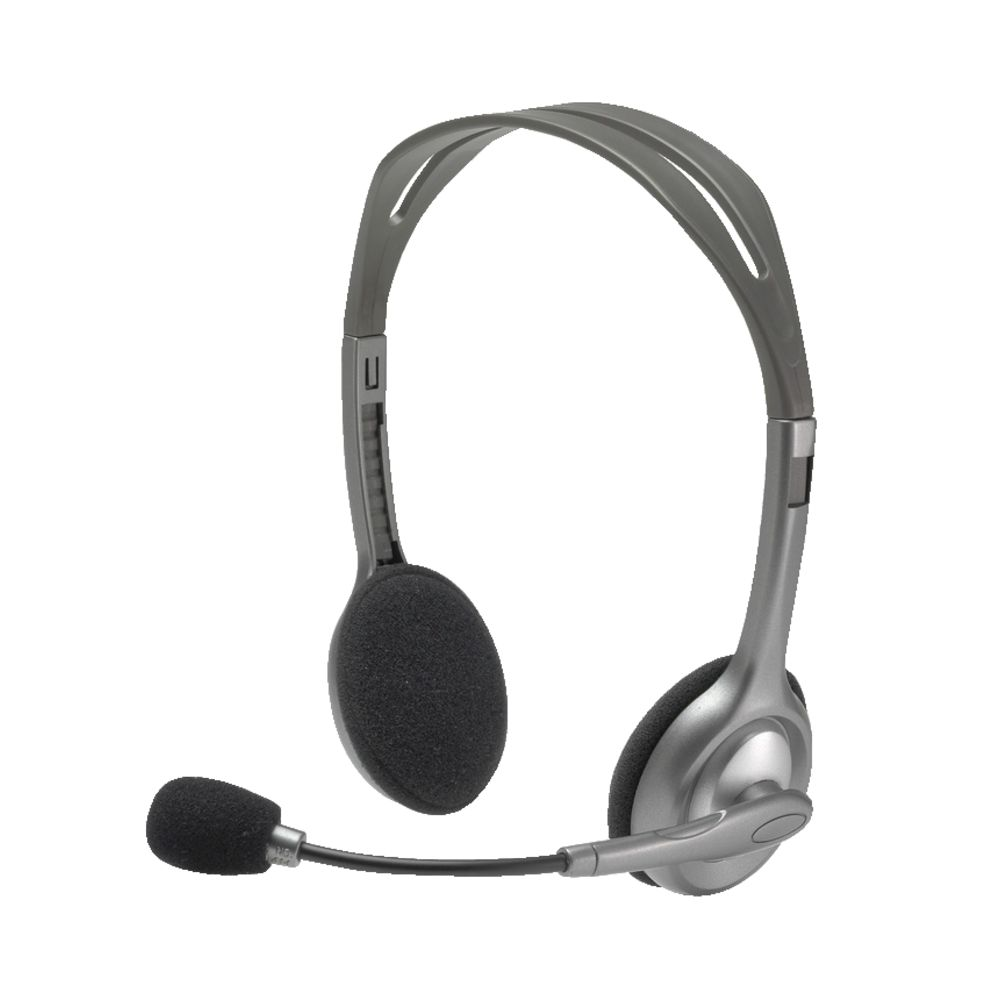 Drawn headphones computer microphone Headset Silver Headsets PC Ear