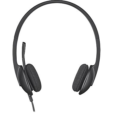 Drawn headphones computer microphone Wired PC Internet 000507) for