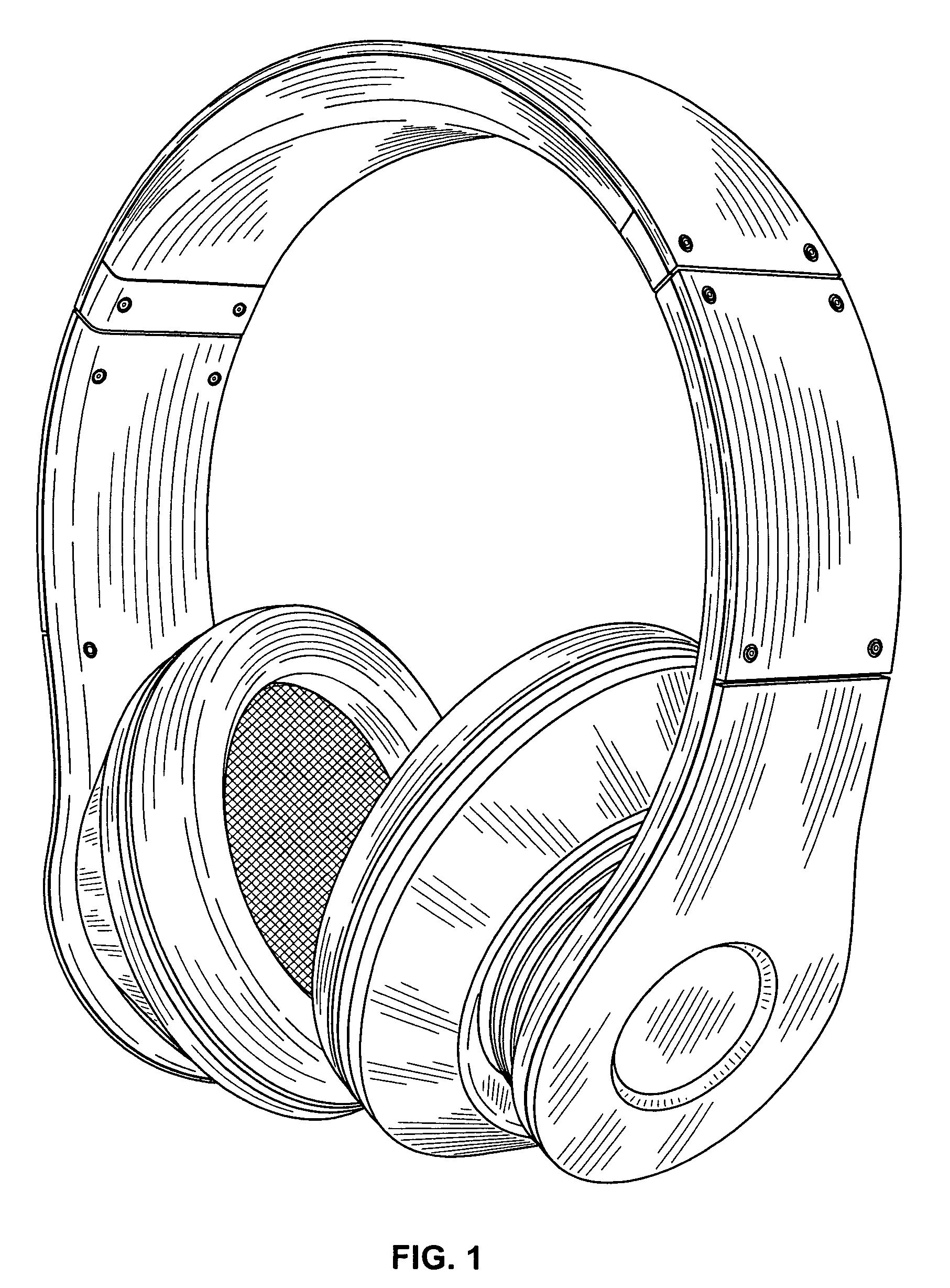 Drawn headphone Patent Patent Drawing Google Headphone