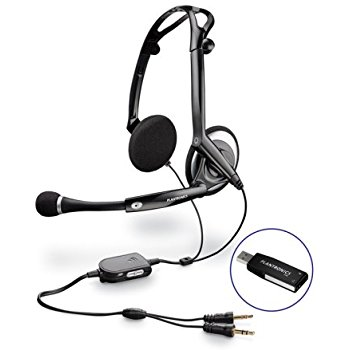 Drawn headphones computer microphone Foldable Stereo for USB (Optimized