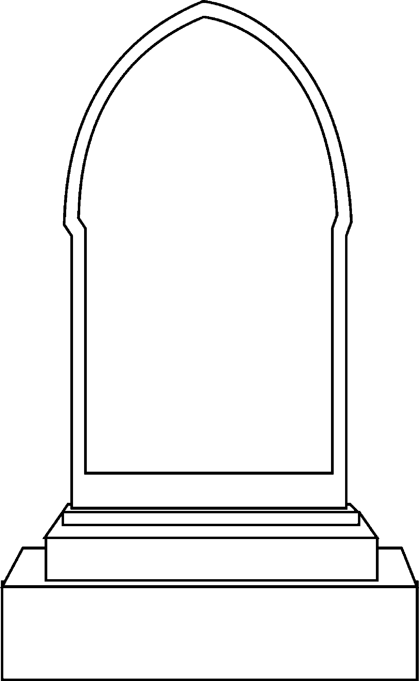 Headstone clipart blank On Free Clip Free Clip