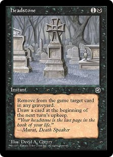 Drawn headstone death Headstone The Magic: Gathering Gatherer