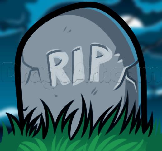 Drawn headstone grave Gravestone a kids a by