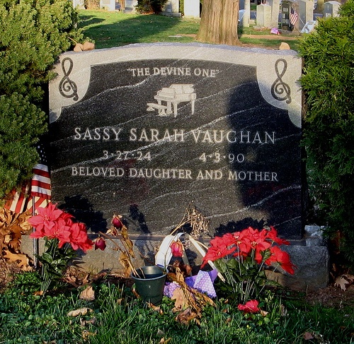 Drawn headstone grave Grave jazz was Newark funeral