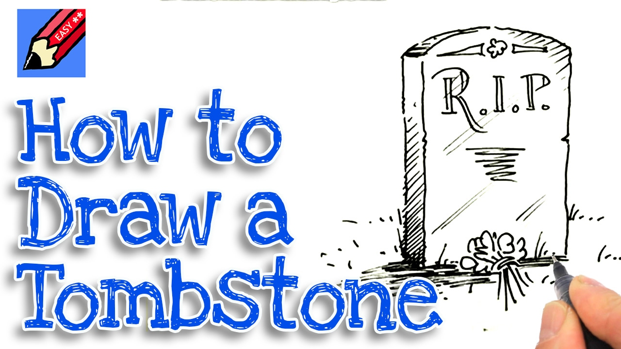Drawn tombstone Learn how real tombstone for