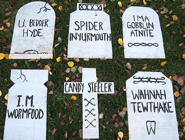 Drawn tombstone halloween decoration Halloween Decorations Halloween Spooky Outdoor