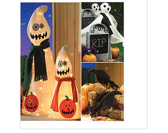 Drawn headstone halloween decoration Decorations Outdoor Tombstones SEWING Etsy