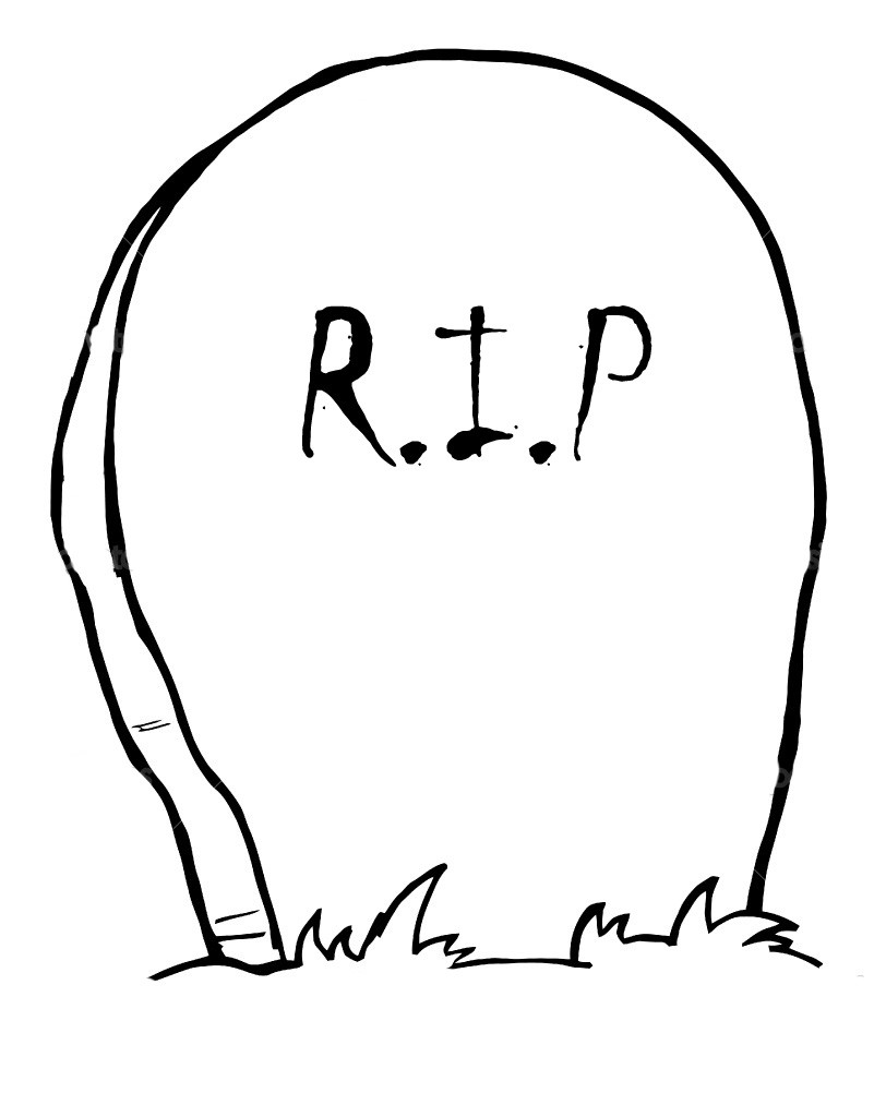 Drawn headstone halloween decoration Tombstone Tombstoned typat DC Templates