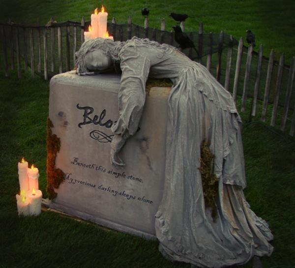 Drawn headstone halloween decoration Best Beloved Homestead Headstones Pinterest