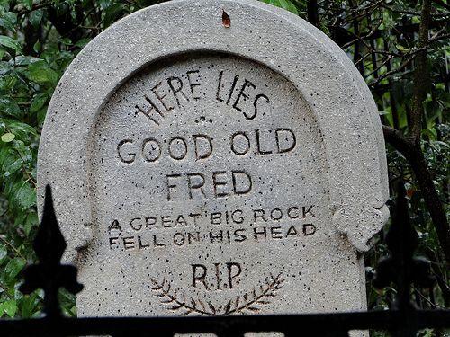 Drawn headstone here lies Big Graveside best Pinterest Fell