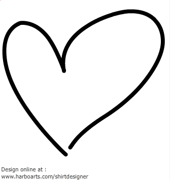 Drawn heart Art 03 Heart Clipart –