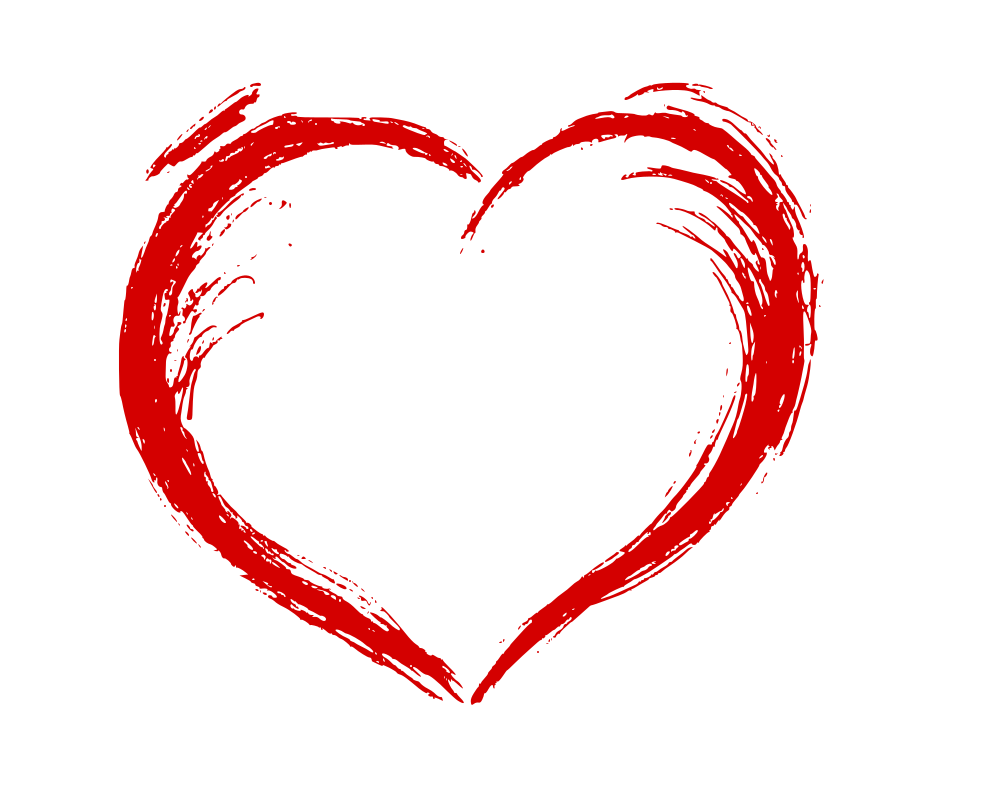 Drawn heart Drawn SVG Hand OnlyGFX drawn