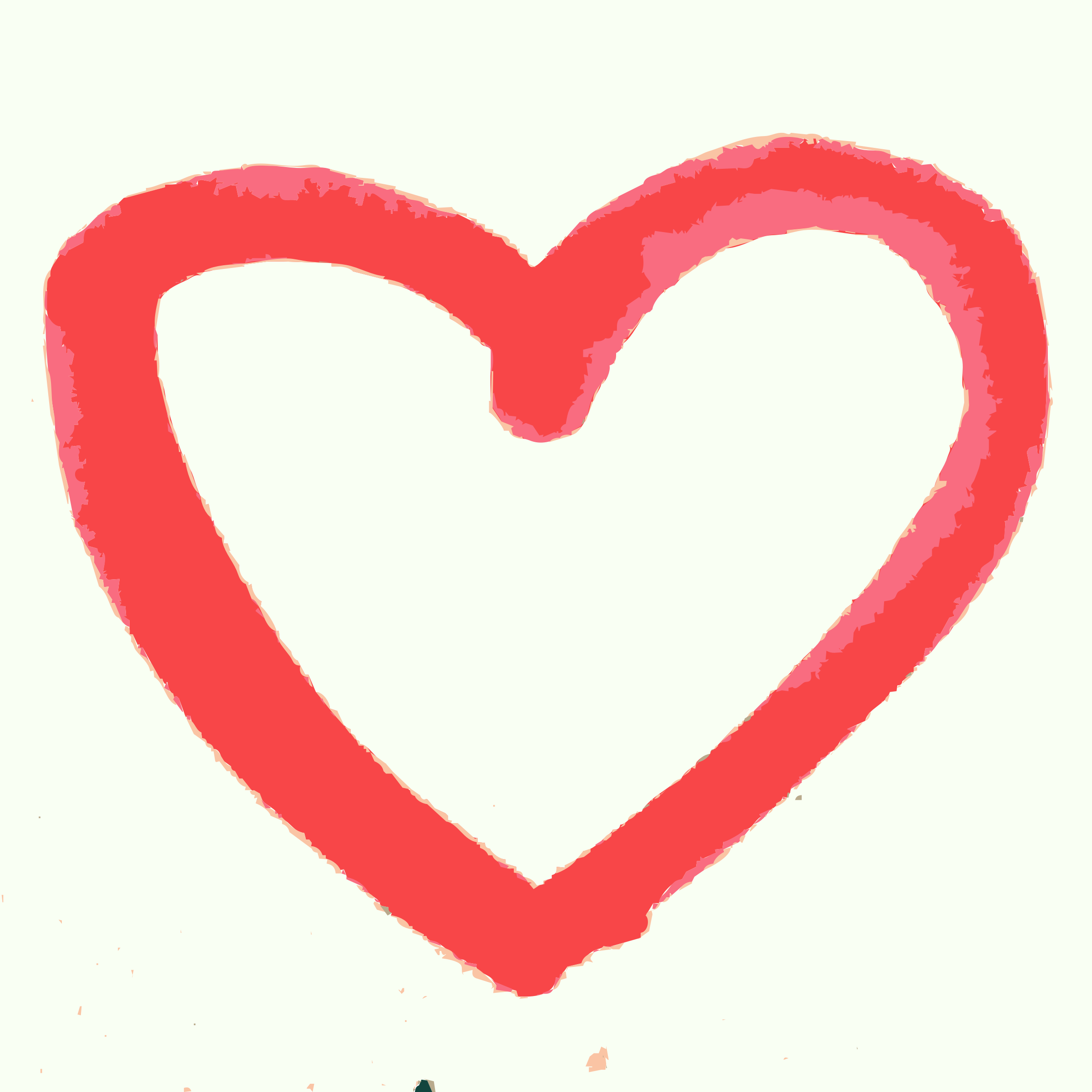 Drawn heart Clipart drawn heart hand A