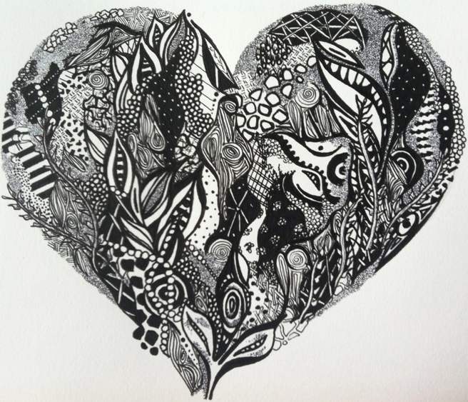 Drawn hearts creative Nolita – us! for Kelsey