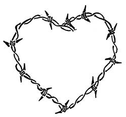 Drawn hearts barbed wire Boomboom34 Barbed by Wire Lisamahphone