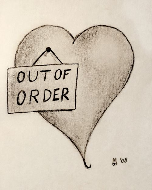Drawn sad sad heart Ideas valentine Broken it Pinterest