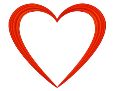 Hearts clipart tiny heart Clip borders 44 Red Transparent