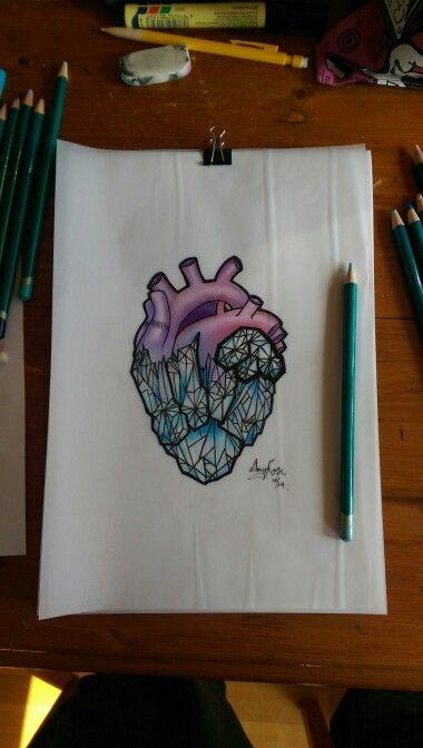 Drawn crystal Ideas Neo Amy #tattoo by