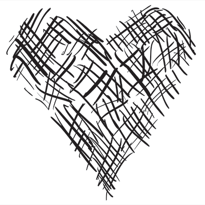 Drawn hearts png white The  Test Heart Hand