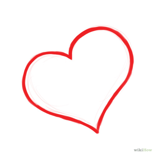 Drawn hearts outline Download Clip Free on DRAWING