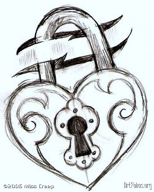 Drawn heart easy Ideas more will a drawings