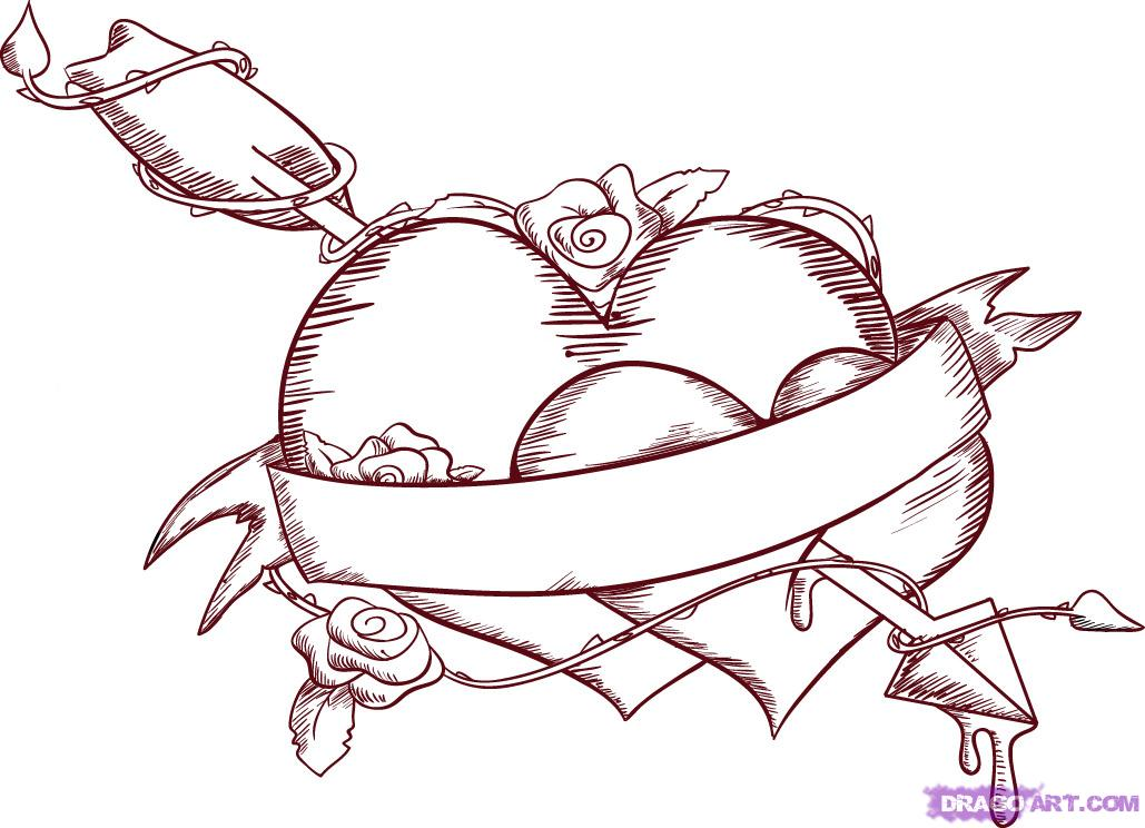 Drawn heart emo  FREE Culture To love