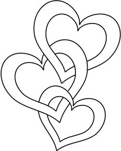 Drawn rose love heart For and Printable Coloring Pages