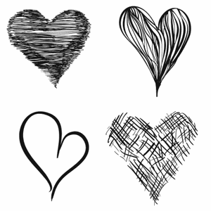 Drawn hearts png white 3 love thehanddrawnhearttest Page Blog