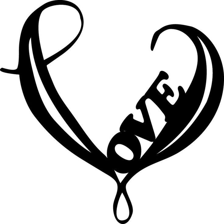 Drawn hearts simple Simple Heart Free  Art