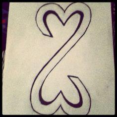 Drawn hearts simple art  drawings Drawings Easy Cool