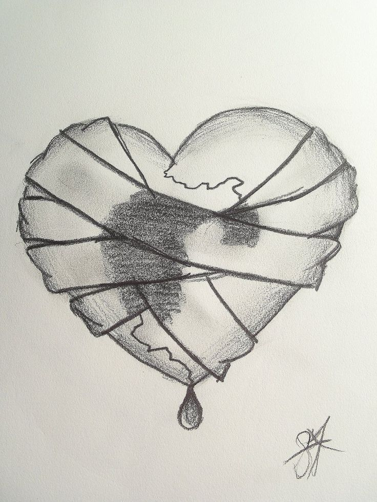Drawn sad art Heart Broken Best 20+ ideas